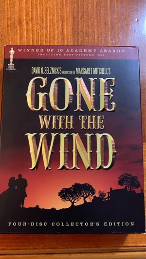 Gone With the Wind - 4 disc collectors edition for Sale in Bay Harbor Islands, FL