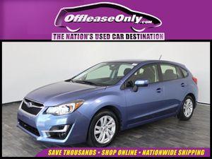 2016 Subaru Impreza for Sale in North Lauderdale, FL