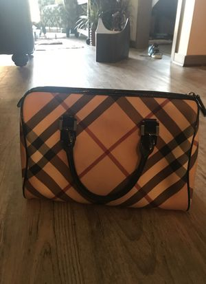 Authentic Burberry Bowling Bag Purse for Sale in Nashville, TN