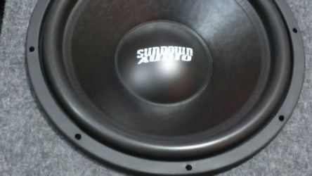 """15"""" Sundown Dual 2-ohm Voice Coil Brand New Out Of The Box Brand New Vent Ported Box Right Out Of The Box 500 Watt RMS Play For The First Time Today for Sale in Portland,  OR"""