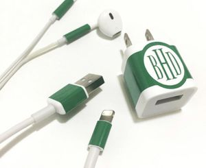 Personalized Phone charger decal sticker for Sale in Nuevo, CA