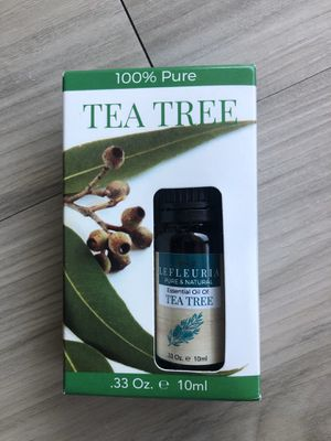 Tea tree essential oil unopened for Sale in Tampa, FL