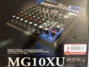 Yamaha Interface mixing console mg10xu for Sale in Miramar, FL