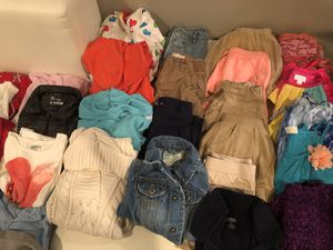 35 piece girls clothing lot size 4/5 for Sale in Houston, TX