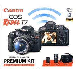 Canon. EOS T7 premium kit for Sale in Adelanto, CA