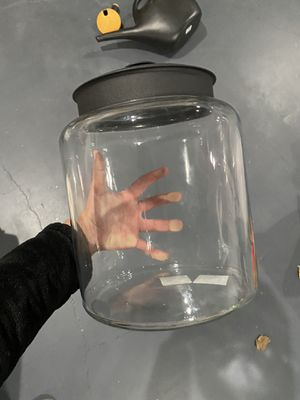 3 set glass kitchen jars for Sale in SeaTac, WA