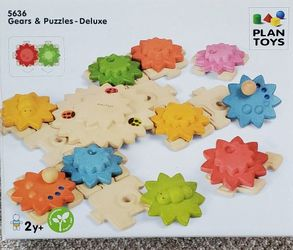 Plan Toys Geara & Puzzles - Deluxe for Sale in Tigard,  OR