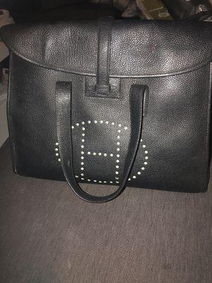 Hermès black bag beautiful bag for Sale in Irvine, CA