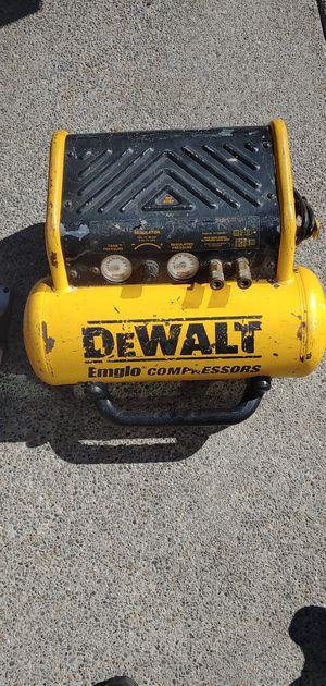 DeWalt Compressor for Sale in Renton, WA