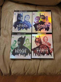 Batman, Batman Returns, Batman Forever, Batman & Robin for Sale in La Mesa,  CA