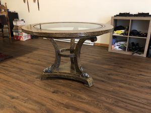 Maitland Smith leather clad foyer table for Sale in Menomonie, WI
