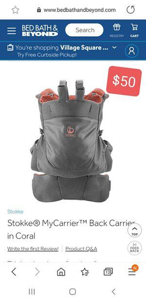 Baby back carrier for Sale in Pittsburgh, PA