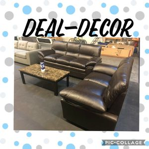 Leather 2 Piece Sofa Set for Sale in Marietta, GA