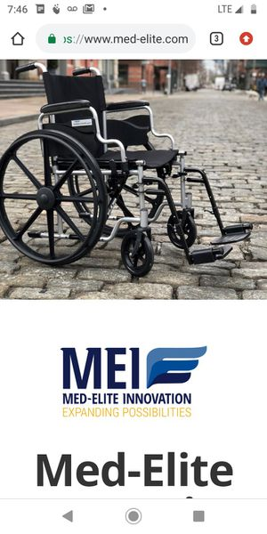 Med-Elite Innovation Wheelchair NEW for Sale in San Francisco, CA