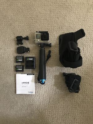 GoPro Hero 4 Silver for Sale in Ellicott City, MD
