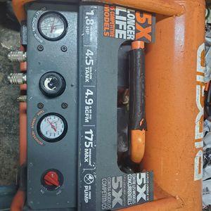 Ridgid Air Compressor 4.5 Gallon 175 Max Pressure for Sale in Dallas, TX