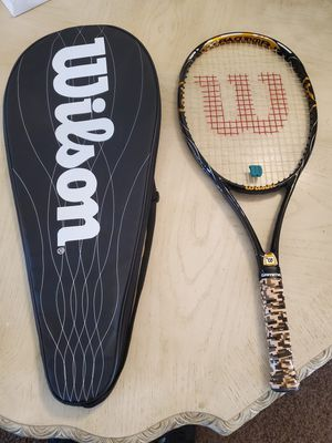 Kids Wilson Tennis Racket with case Blade racquet junior for Sale in Chandler, AZ
