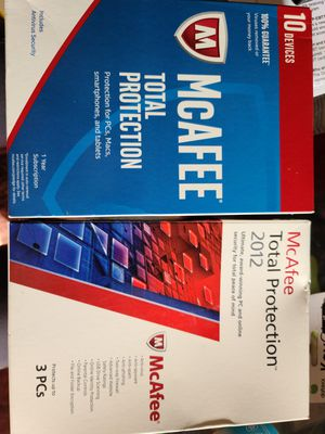 McAFEE Total Protection for Sale in Las Vegas, NV