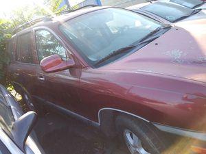 For parts 2005 Hyundai santa fe for Sale in Stockton, CA