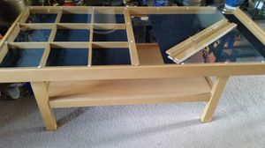 Coffee table display case for Sale in Vancouver, WA