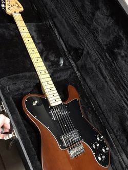 Fender Telecaster Deluxe Mocha With Hard Case FOR TRADE for Sale in Altadena,  CA