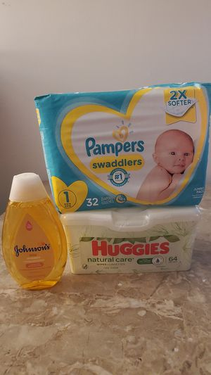 Pampers diapers for Sale in Federal Way, WA