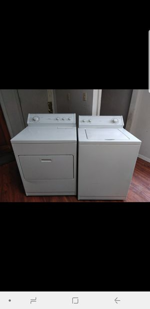 Whirlpool washer and dryer new works great used for Sale in Denver, CO