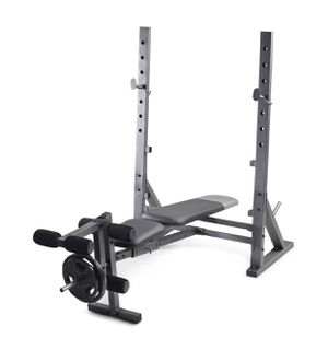 Brand New in Box Gold's Gym Olympic Weight Bench and Weight Storage for Sale in Richmond, VA