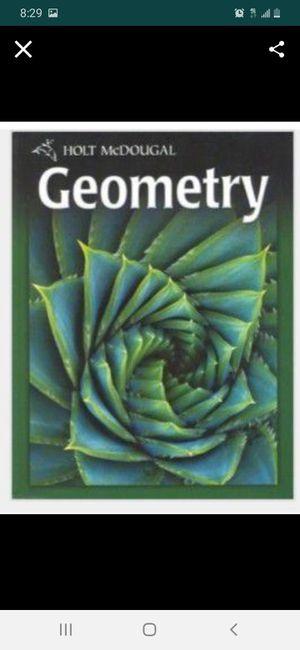 10th Grade Geometry Textbook for Sale in Miami, FL