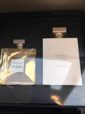 Chanel Gabrielle perfume and lotion x3 for Sale in San Jose, CA