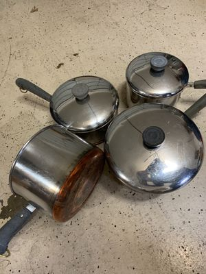 Revere - antique pan set; make offer for Sale in Colleyville, TX