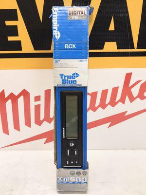 Empire 16 in. True Blue Digital Box Level for Sale in Bakersfield, CA