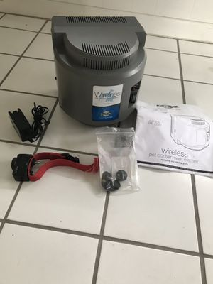 PETSAFE WIRELESS CONTAINMENT SYSTEM for Sale in Allen Park, MI