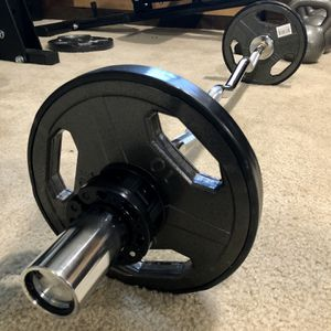 Brand new in box Titan Fitness Olympic EZ Easy Bicep Super curl bar barbell 35 lb weight set (not negotiable) for Sale in Chula Vista, CA