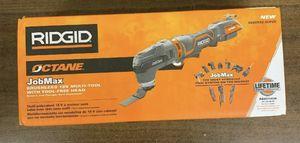 Ridgid R862105B Octane Jobmax 18V Brushless Multi-Tool (Bare Tool Only) New for Sale in St. Petersburg, FL