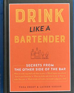 """Brand new hardcover book, """"Drink Like A Bartender"""" for Sale in Fort Lauderdale,  FL"""