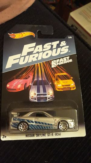 Hot Wheels Fast and Furious Nissan Skyline GT-R (R34) for Sale in Modesto, CA