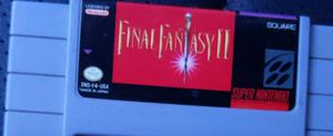 Final Fantasy II - SNES (Super Nintendo) for Sale in Sachse, TX