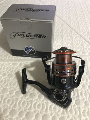 Brand new Pflueger supreme xt fishing reel retails for 150$ with box for Sale in Monterey Park, CA