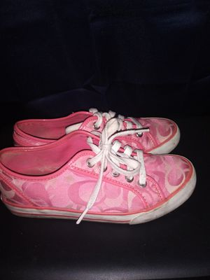 Coach pink shoes for Sale in Knoxville, TN