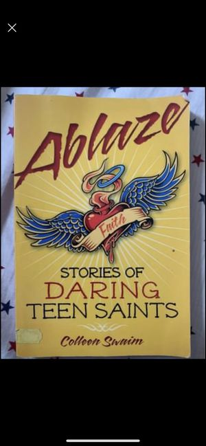 Ablaze: Stories of Daring Teen Saints by Colleen Swaim for Sale in The Bronx, NY