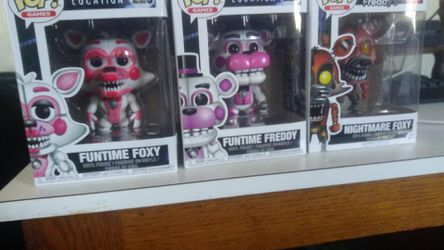 Five nights at Freddy's pop figures for Sale in North Highlands,  CA