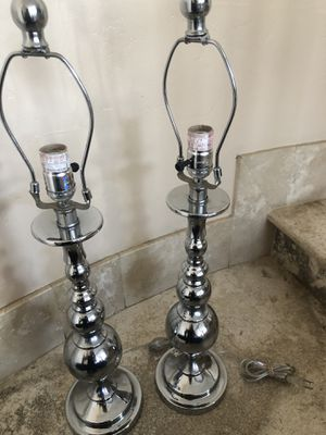 2 lamp bases new from ross for Sale in Spring Valley, CA