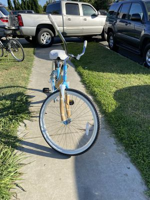 """LYRIC CYCLES BEACH CRUISER 26"""" SKY BLUE NEW BRAND OUT THE BOX. for Sale in Bellflower, CA"""