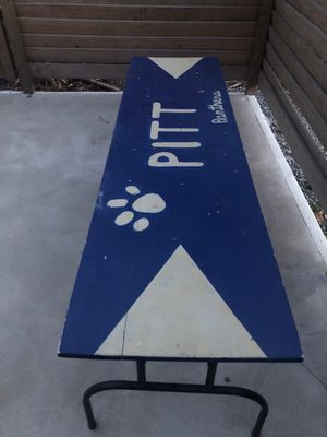 University of Pittsburgh table for Sale in Pittsburgh, PA