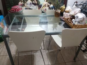 Glass dining table for Sale in Burbank, CA
