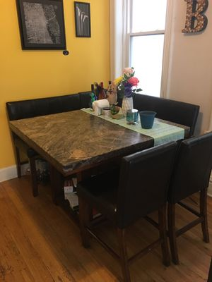 Large Kitchen High Table and Chairs for Sale in Chicago, IL
