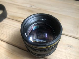Kamlan 50mm f1.1 micro 4/3 lens for Sale in Los Angeles, CA