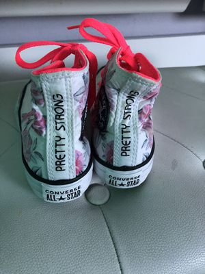 Converse girls shoes for Sale in Tacoma, WA