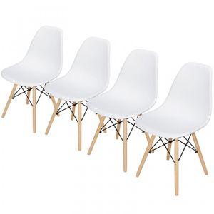 4PCS Eames Chair Dining Chairs for Bar Restaurant Home Living Room Decor for Sale in Wildomar, CA